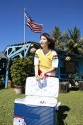 All 15 year old girl Kawashima Umika gravure swimsuit image052