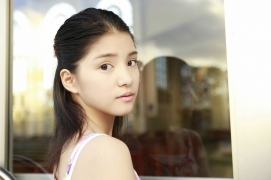All 15 year old girl Kawashima Umika gravure swimsuit image068