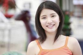 All 15 year old girl Kawashima Umika gravure swimsuit image084