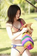 All 15 year old girl Kawashima Umika gravure swimsuit image094