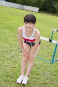 Beautiful girl in track and field club rew005