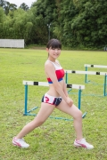 Beautiful girl in track and field club rew006