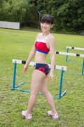 Beautiful girl in track and field club rew007