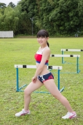 Beautiful girl in track and field club rew008