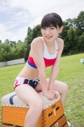 Beautiful girl in track and field club rew015