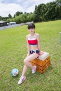 Beautiful girl in track and field club rew020