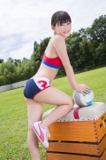 Beautiful girl in track and field club rew022