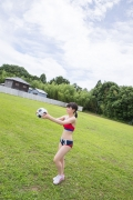 Beautiful girl in track and field club rew027