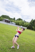 Beautiful girl in track and field club rew026