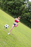 Beautiful girl in track and field club rew031