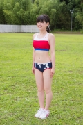 Beautiful girl in track and field club rew034