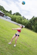Beautiful girl in track and field club rew032