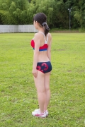 Beautiful girl in track and field club rew040