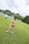 Beautiful girl in track and field club rew033