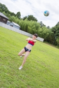 Beautiful girl in track and field club rew039