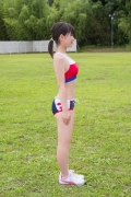 Beautiful girl in track and field club rew043