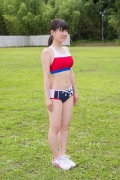 Beautiful girl in track and field club rew045