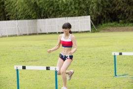 Beautiful girl in track and field club rew052