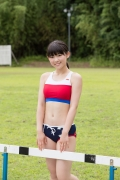 Beautiful girl in track and field club rew056