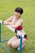 Beautiful girl in track and field club rew059
