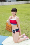 Beautiful girl in track and field club rew063