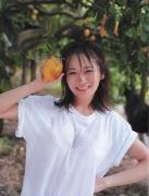 Manatsu Akimoto gravure swimsuit image 26 years old towards adults033