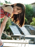 Miona Hori Gravure Swimsuit Image A bold cut 2020 that she showed me at the age of 23 in southern France004
