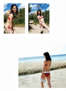 Miona Hori Gravure Swimsuit Image A bold cut 2020 that she showed me at the age of 23 in southern France022