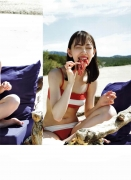 Miona Hori Gravure Swimsuit Image A bold cut 2020 that she showed me at the age of 23 in southern France028