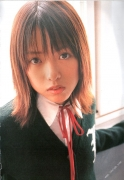 15 years old 148 cm tall and what an F cup Hitomi Ito gravure swimsuit image007