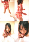 15 years old 148 cm tall and what an F cup Hitomi Ito gravure swimsuit image013