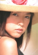 15 years old 148 cm tall and what an F cup Hitomi Ito gravure swimsuit image014
