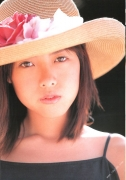 15 years old 148 cm tall and what an F cup Hitomi Ito gravure swimsuit image015