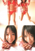 15 years old 148 cm tall and what an F cup Hitomi Ito gravure swimsuit image021