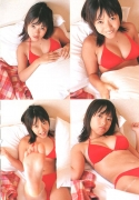 15 years old 148 cm tall and what an F cup Hitomi Ito gravure swimsuit image023