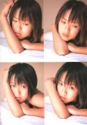 15 years old 148 cm tall and what an F cup Hitomi Ito gravure swimsuit image027