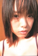 15 years old 148 cm tall and what an F cup Hitomi Ito gravure swimsuit image035
