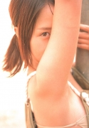 15 years old 148 cm tall and what an F cup Hitomi Ito gravure swimsuit image044