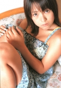15 years old 148 cm tall and what an F cup Hitomi Ito gravure swimsuit image055