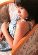 15 years old 148 cm tall and what an F cup Hitomi Ito gravure swimsuit image061
