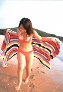15 years old 148 cm tall and what an F cup Hitomi Ito gravure swimsuit image063