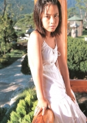 15 years old 148 cm tall and what an F cup Hitomi Ito gravure swimsuit image068