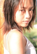 15 years old 148 cm tall and what an F cup Hitomi Ito gravure swimsuit image079