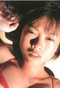 15 years old 148 cm tall and what an F cup Hitomi Ito gravure swimsuit image097