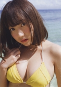 Im crazy about you 17 years old Dreaming address Kyouka gravure swimsuit image024