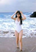 Beautiful girl 15year-old locus Tomoka Kurokawa gravure swimsuit image050