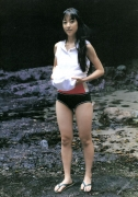 Beautiful girl 15year-old locus Tomoka Kurokawa gravure swimsuit image089