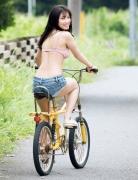Active high school girl Airi Furuta gravure swimsuit image011