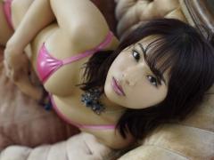 Natsumi Hirajima Pink Metallic Bikini009