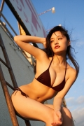 Take a look at Sakuchinwho has grown up a little Sakura Ando swimsuit gravure070